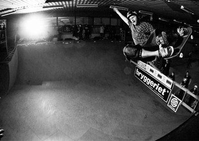 Stephen White at Vert Attack VI. Photo Nils Svensson.
